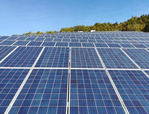 Gran sole oggi in Valceno. Impianto fotovoltaico a Varano Melegari (PR)
